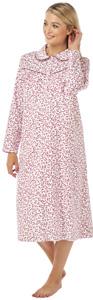 1a518f55b41ffb Winceyette Nachthemd Warm 100%Cotton Lang Neu Damen Flanell ...