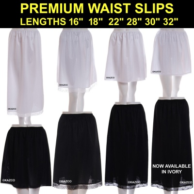 Premium Quality Half Slips In A Range Of Lengths