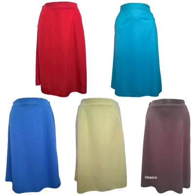 Ladies Light Weight Pocket Skirts