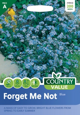 Forget Me Not Seeds Blue by Country Value