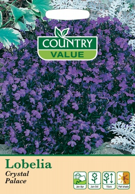 Lobelia Seeds Crystal Palace by Country Value