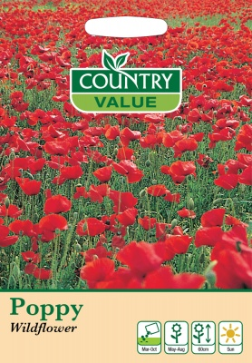 Poppy Seeds 'Wildflower' by Country Value