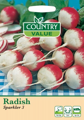Radish Seeds Sparkler 3 by Country Value
