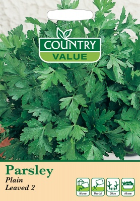 Parsley 'Plain Leaved 2' by Country Value