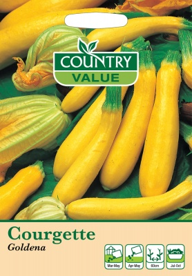 Courgette Seeds Goldena by Country Value