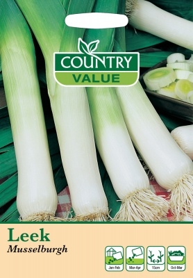 Leek Seeds Musselburgh by Country Value