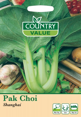 Pak Choi 'Shanghai' by Country Value