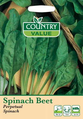Spinach Beet Seeds 'Perpetual Spinach' by Country Value
