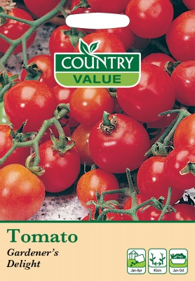 Tomato Seeds 'Gardeners Delight' by Country Value