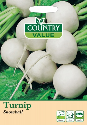 Turnip Seeds 'Snowball' by Country Value