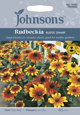 Rudbeckia Seeds, Variety 'Rustic Dwarf' x 500 (approx)