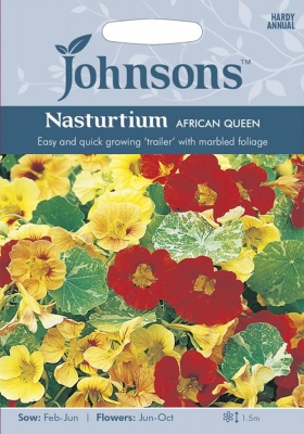 Nasturtium Seeds 'African Queen' by Johnsons