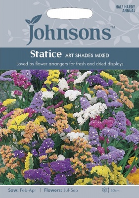 Statice 'Art Shades Mix' Seeds by Johnsons