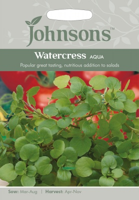 Watercress 'Aqua' Seeds by Johnsons