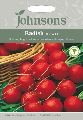 Radish Seeds 'Lucia F1' by Johnsons