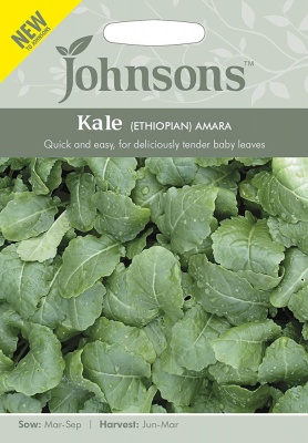 Kale Seeds Ethiopian Amara by Johnsons