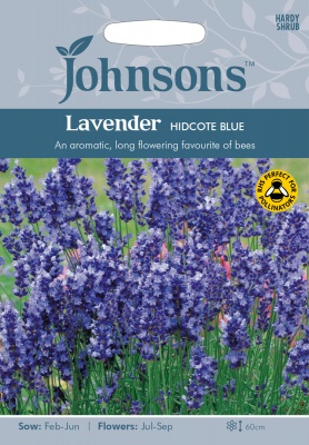 Lavender Seeds Hidcote Blue by Johnsons