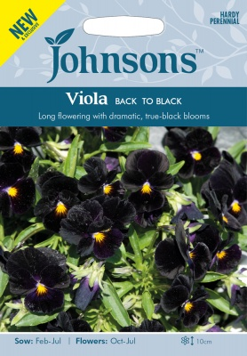 Viola Seeds 'Back To Black by Johnsons