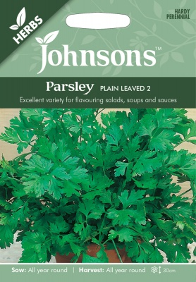 Parsley Seeds 'Plain Leaved 2' by Johnsons