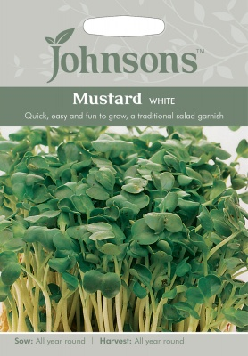 Mustard Seeds 'White' by Johnsons