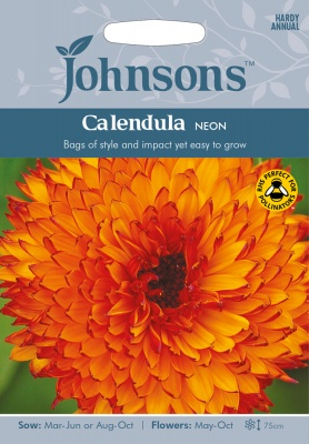 Calendula 'Neon' Seeds by Johnsons