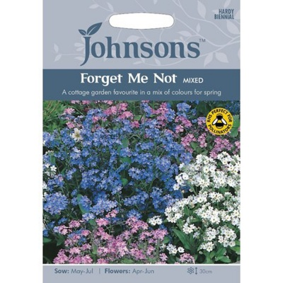 Forget Me Not 'Mixed' Seeds by Johnsons