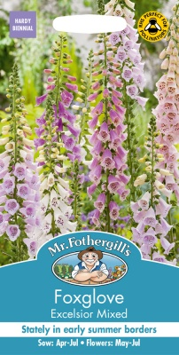 Foxglove Seeds 'Excelsior' by Mr Fothergills