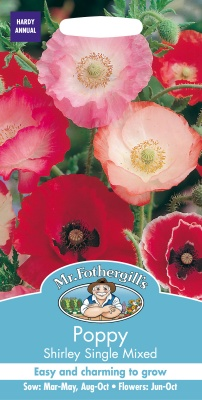 Poppy Seeds 'Shirley Single Mixed' by Mr Fothergills