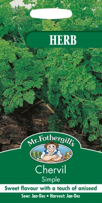 Chervil Seeds by Mr Fothergill's Herbs