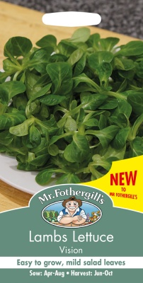 Lambs Lettuce Seeds Vision by Mr Fothergills