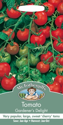 Tomato Seeds Gardener's Delight by Mr Fothergill's