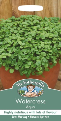 Watercress Seeds Aqua by Mr Fothergill's