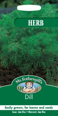 Dill Seeds Herb by Mr Fothergill's