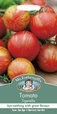 Tomato Seeds 'Tigerella' by Mr Fothergill's