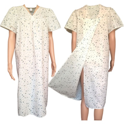 Hospital / Incontinence Nightdress - Back Opening