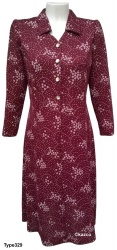 Long Sleeve Dresses For Elderly Ladies