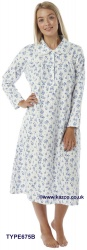 A Selection Of Winceyette Nightdresses In Different Designs