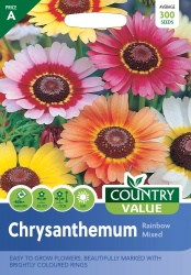Chrysanthemum Seeds Rainbow Mixed by Country Value
