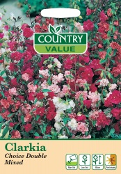 Clarkia Seeds Choice Double Mixed by Country Value