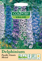 Delphinium Seeds Pacific Giants by Country Value