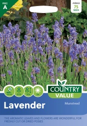 Lavender Seeds Munstead by Country Value