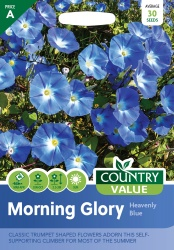 Morning Glory Seeds Heavenly Blue by Country Value