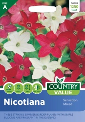 Nicotiana Sensation Mixed Seeds by Country Value