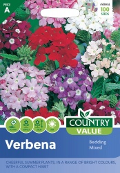 Verbena Seeds Bedding Mixed by Country Value