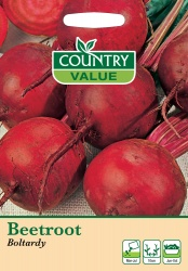 Beetroot Seeds 'Boltardy' by Country Value