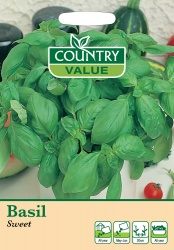 Basil Seeds 'Sweet' by Country Value