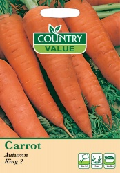 Carrot Seeds Autumn King 2 by Country Value