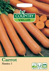 Carrot Seeds Nantes 5 by Country Value