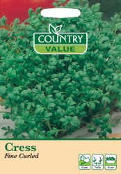 Cress Seeds Fine Curled by Country Value