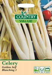 Celery Seeds Golden Self Blanching 3 by Country Value